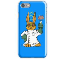 Mad Scientist In Training Bunny iPhone Case/Skin