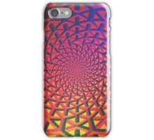Holographic networks iPhone Case/Skin
