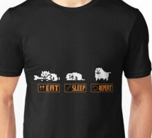 Eat, Sleep, Repeat - Annoying Dog Unisex T-Shirt