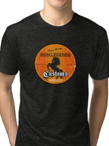 Hot Rod Retro Decal Tri-blend T-Shirt