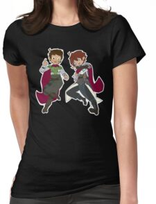 The Couch Knights - Falling Womens Fitted T-Shirt