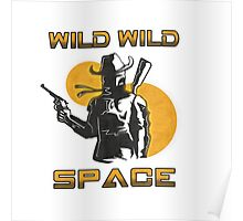 Wild Wild Space Bounty Hunter Poster