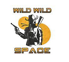 Wild Wild Space Bounty Hunter Photographic Print