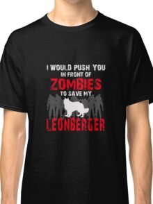 Front Of Zombies Leonberger Classic T-Shirt