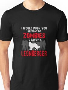 Front Of Zombies Leonberger Unisex T-Shirt