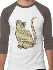 News Cats Men's Baseball ¾ T-Shirt