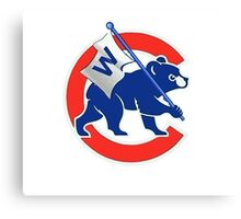 Cubs Winner Canvas Print
