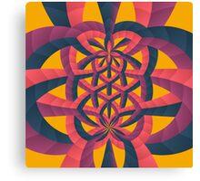 Wiggle Wobble Canvas Print
