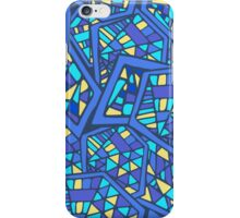 Abstract. Cold. Mosaic. iPhone Case/Skin