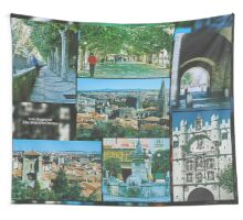 2000 FRAGMENTS ~ Blue Skies Over Burgos Wall Tapestry