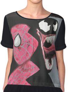 Spider v. Venom  Chiffon Top