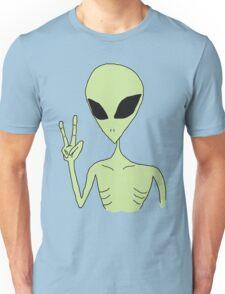 peace alien Unisex T-Shirt