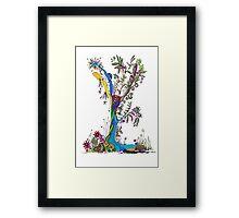 Tree of Life 13 - The Fairy Tree Framed Print