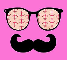 Specs & Tash (Pink Anchors) by Scarecrow506