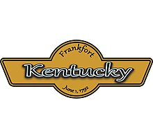 Kentucky State Logo Photographic Print