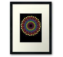 Africa Mandala Framed Print