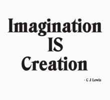 Imagination Is Creation Baby Tee