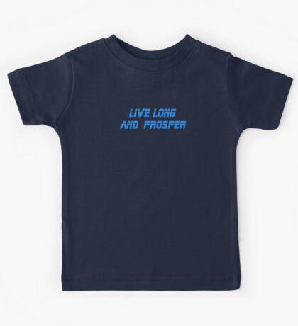 Live Long and Prosper T-Shirt Kids Tee