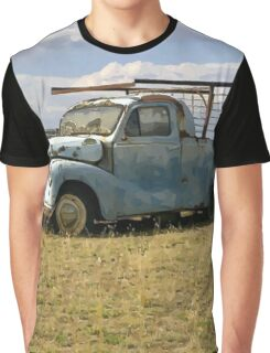 Old ute, central Victoria cartoon Graphic T-Shirt