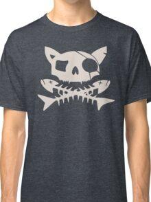 Cat Pirate Jolly Roger Classic T-Shirt
