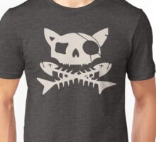 Cat Pirate Jolly Roger Unisex T-Shirt