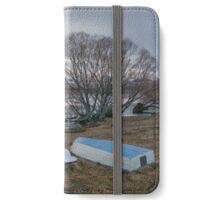 Winter at Lake McGregor iPhone Wallet/Case/Skin
