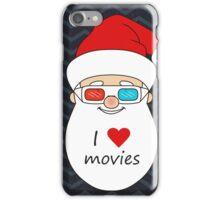 Smiling Santa Claus 4 iPhone Case/Skin