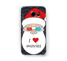 Smiling Santa Claus 4 Samsung Galaxy Case/Skin
