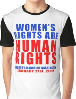 Womens' Rights are Human Rights Unisex Graphic T-Shirt