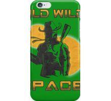 Wild Wild Space Bounty Hunter iPhone Case/Skin