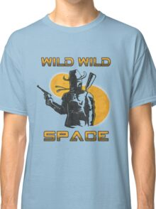 Wild Wild Space Bounty Hunter Classic T-Shirt