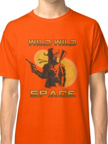 Wild Wild Space Bounty Hunter Classic T-Shirt