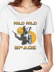 Wild Wild Space Bounty Hunter Women's Relaxed Fit T-Shirt