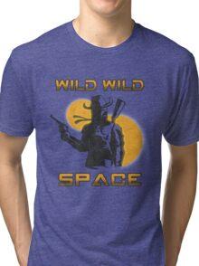 Wild Wild Space Bounty Hunter Tri-blend T-Shirt