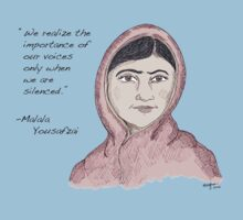 Malala Yousafzai - Voices (color) Baby Tee