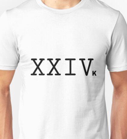 Bruno 24K Magic Logo  Unisex T-Shirt