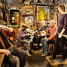 Old Time Music at the Pub by nadine henley