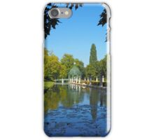 The 'Ile d'amour' at Chantilly iPhone Case/Skin