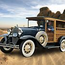 "California Dreamin'- Model A ""Woody"" by wolftinz"