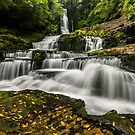 McLean Falls - New Zealand by Kimball Chen