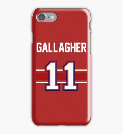 Brendan Gallagher - WHITE iPhone Case/Skin