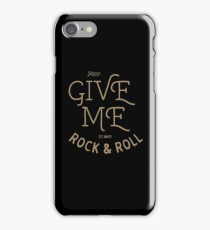 GIVEME ROCK iPhone Case/Skin