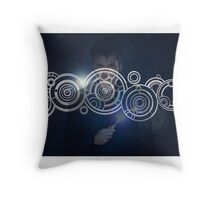 Tenth Doctor Who Graphic Throw Pillow