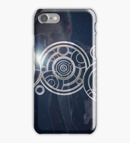 Eleventh Doctor Who Graphic iPhone Case/Skin