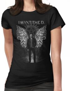 I Want the 'D' Winchester Womens Fitted T-Shirt