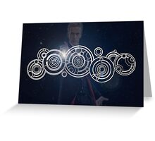 Twelfth Doctor Who Graphic Greeting Card