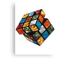 Rubix Cube design  Canvas Print