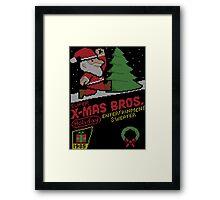 Super X-Mas Bros Framed Print
