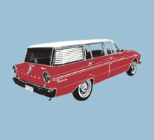 XM Falcon Wagon (Red) Baby Tee