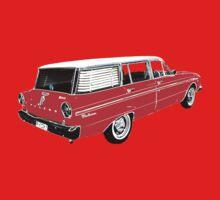 XM Falcon Wagon (Red) Baby Tee